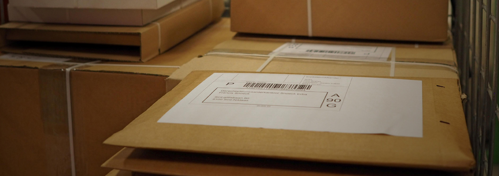 Eerste pakketten verzonden