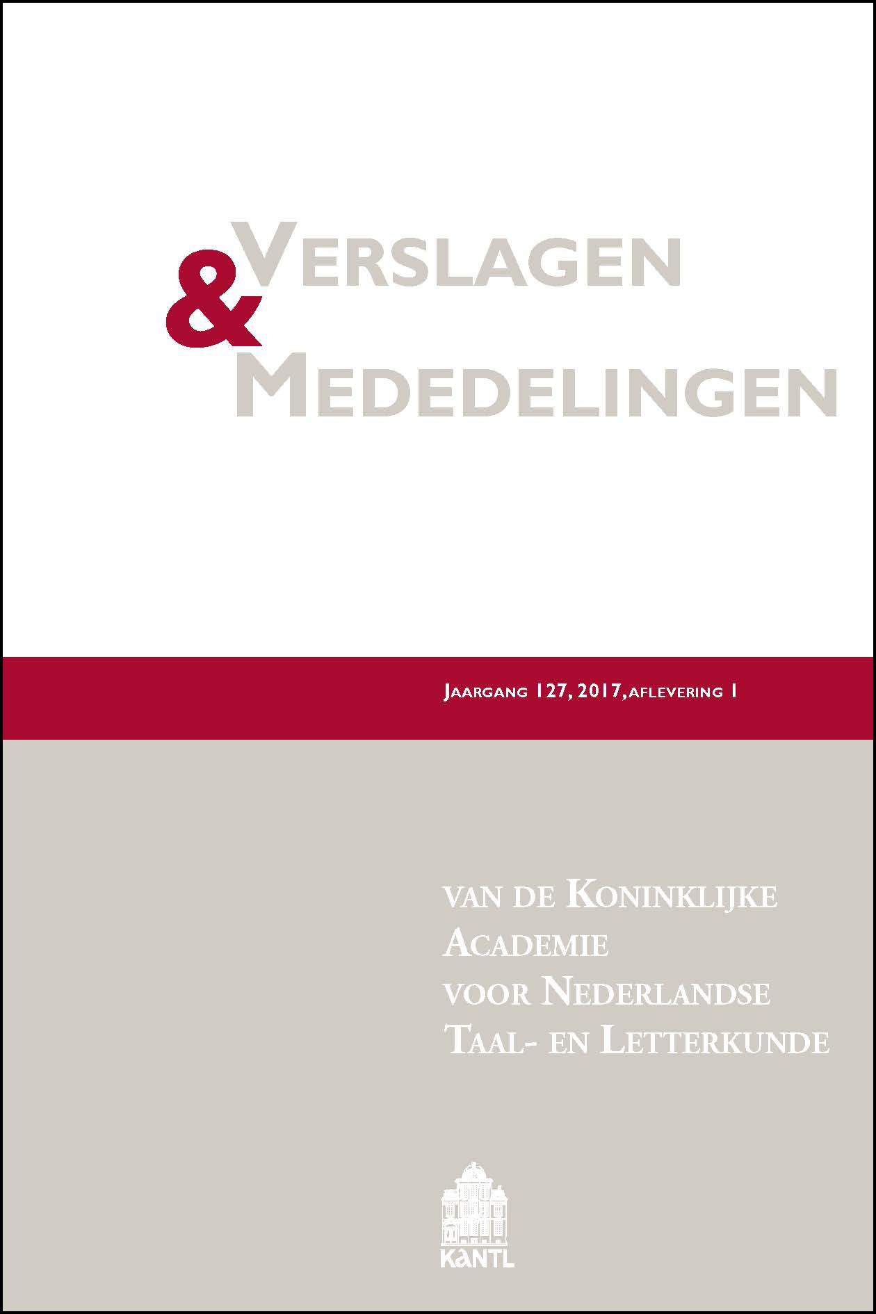 Verslagen & Mededelingen